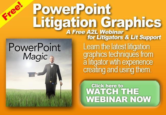 powerpoint litigation graphics consultants
