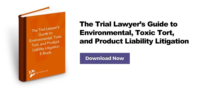 Environmental Litigation Toxic Tort Litigation Product Liability Litigation